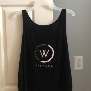 Whitney Simmons fitness tank top